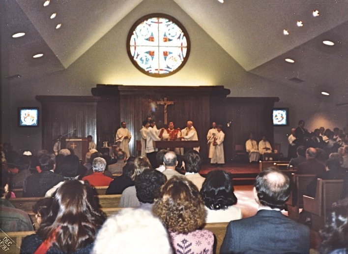 Holy Ghost Church - consecration